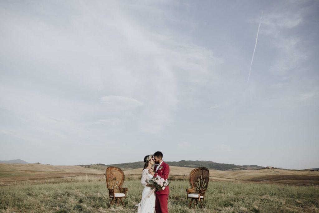 Wedding Planner in Val d'Orcia. Marco e Sara sposi alla Locanda in Tuscany, Castiglione. Giulia Alessandri, Wedding Planner: progettazione e coordinazione matrimoni in Toscana.