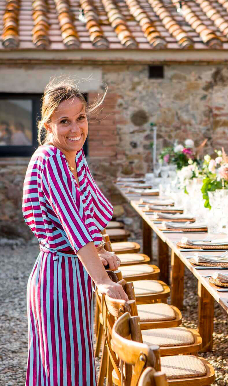 Giulia Alessandri. Wedding Planner in Toscana.