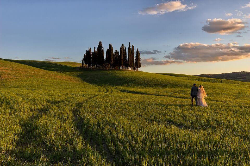 I borghi più belli dove sposarsi in Toscana