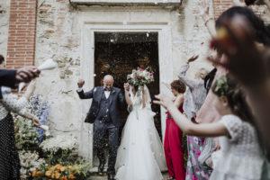 La storia del matrimonio in Toscana di Federico e Rubina. Wedding Planner Giulia Alessandri.