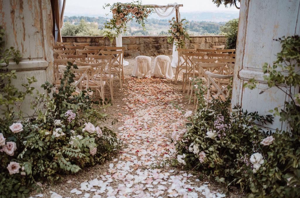 """Matrimonio a Firenze: i luoghi più belli dove dirsi """"Sì, lo voglio!"""""""