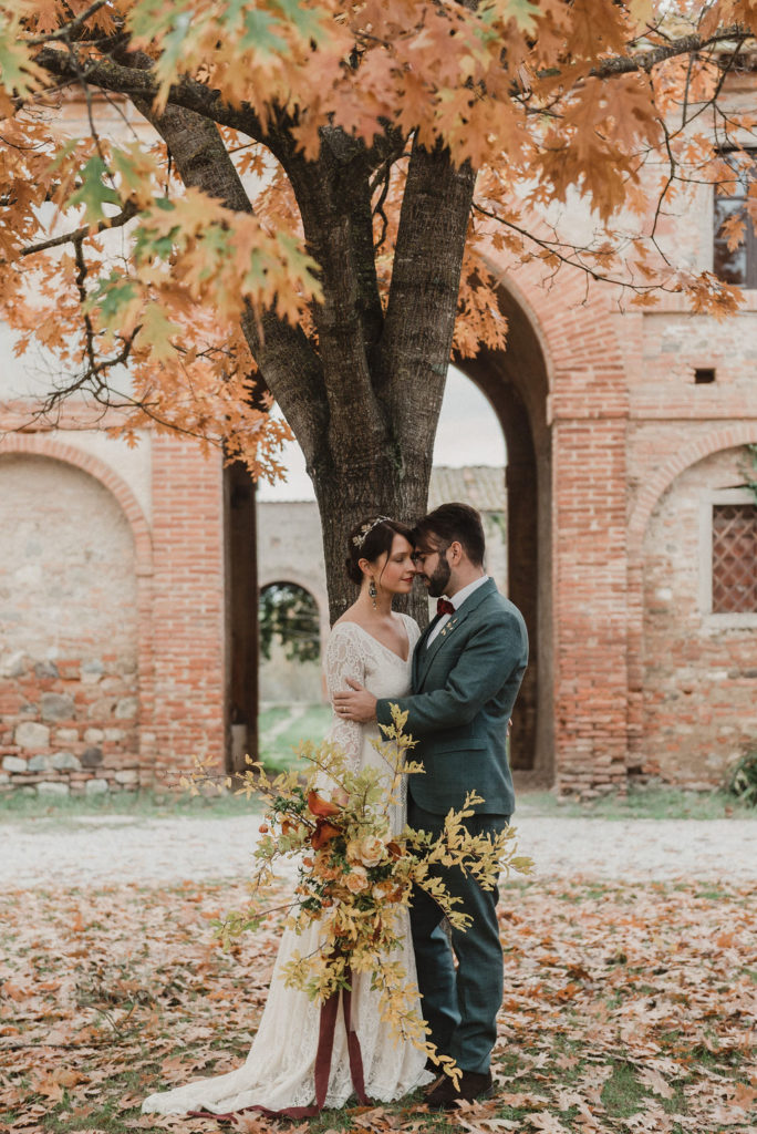 matrimonio autunnale in toscana