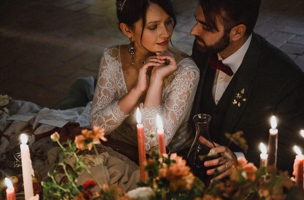 """Matrimonio autunnale in Toscana: dirsi """"Sì!"""" tra la bellezza dei vigneti e la magia del foliage"""