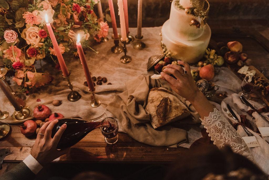 matrimonio autunnale Toscana