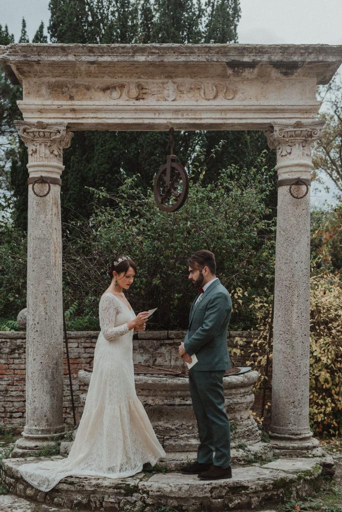 Elopement wedding in Toscana