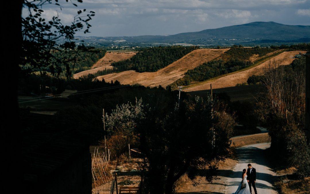 Matrimonio nel Chianti: per le tue nozze tra colline, vigneti e castelli