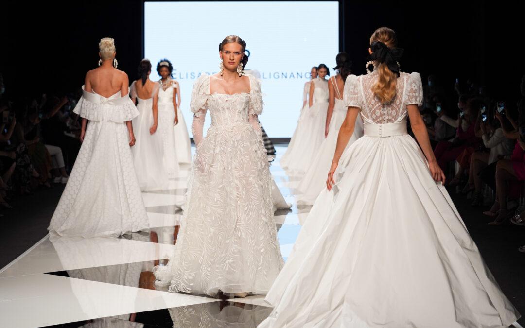 """Abiti da sposa eco-friendly: la nuova tendenza bridal 2022 si colora di """"green"""""""